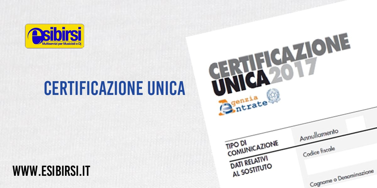 Photo of Cos'è la Certificazione Unica e a cosa ti serve
